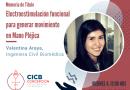 Ciclo de Charlas CICB 2018: Valentina Araya