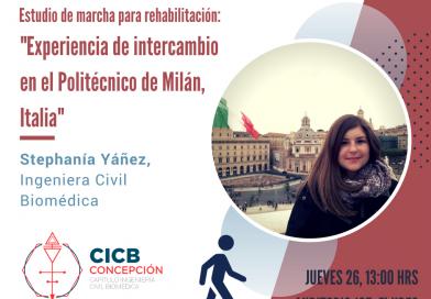Ciclo de Charlas CICB 2018: Stephanía Yáñez