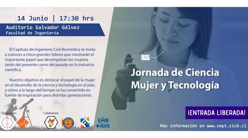 Jornada de Ciencia, Mujer y Tecnología 2018