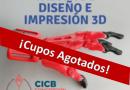 ¡Cupos Agotados! Taller de Diseño e Impresión 3D.